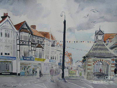 Painting - Sheringham High Street by Martin Howard