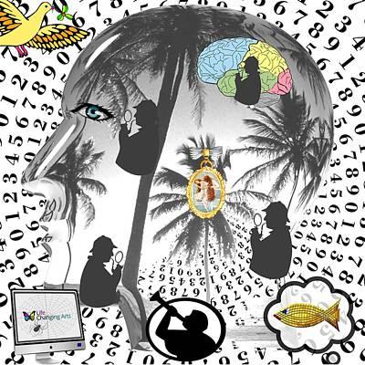 Digital Art - Sherlock's Intuition by Steven Brier
