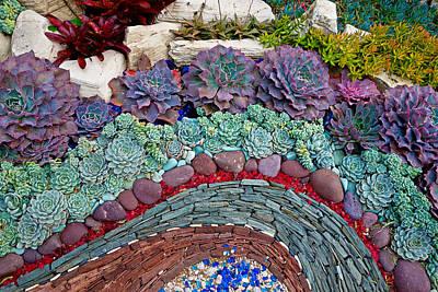 Photograph - Sherman Gardens Study 45 by Robert Meyers-Lussier