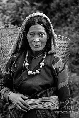 Photograph - Sherpa Woman - Nepal by Craig Lovell