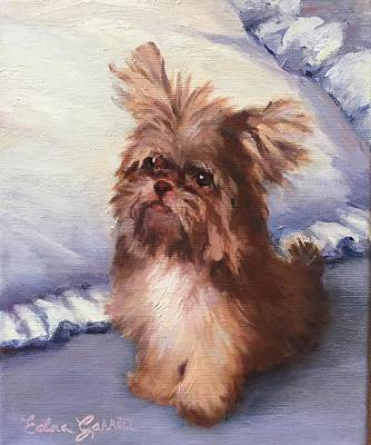 Painting - Sherry's Coco by Edna Garrett