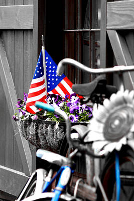 Concord Photograph - She's A Grand Old Flag by Greg Fortier