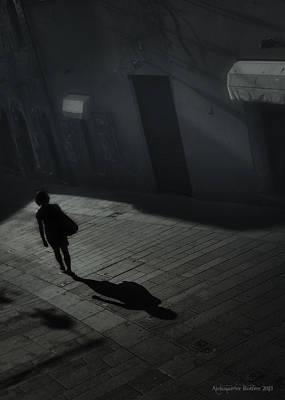 Photograph - She's Leaving Home  by Aleksander Rotner