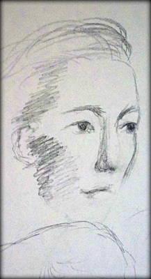 Drawing - Shes So Fair by Georgia's Art Brush