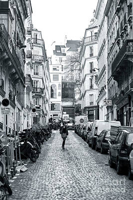 Photograph - She's The One In Paris by John Rizzuto