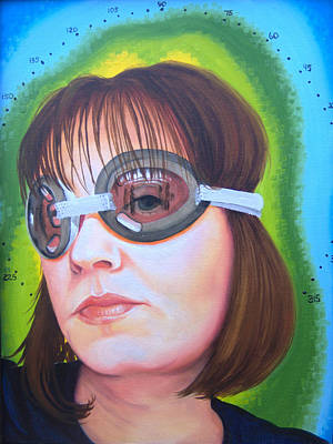 Painting - She's Very Protective Of Her Vision by Kirsten Beitler