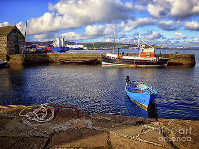 Photograph - Shetland Boats by Lynn Bolt
