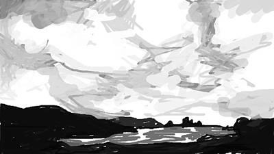 Newfoundland Digital Art - Shetland by Paul Sutcliffe