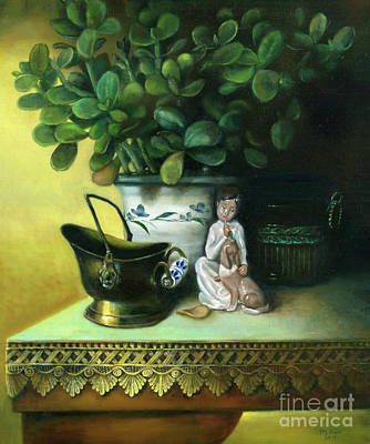 Painting - Shhh Not A Whisper by Marlene Book