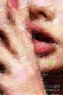 Digital Art - Shhh by Rafael Salazar