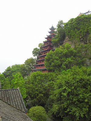 Photograph - Shibao Pagoda by Betty-Anne McDonald