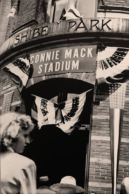 Shibe Park - Connie Mack Stadium Art Print by Bill Cannon