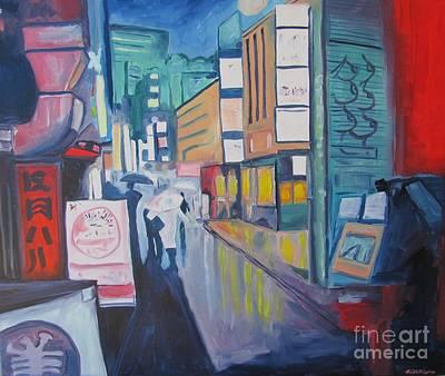 Shibuya Painting - Shibuya Tokyo by Keith Higgins