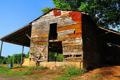Photograph - Shields Barn by Kathryn Meyer