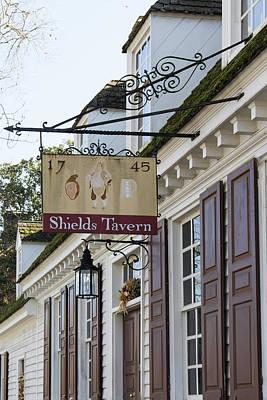 Shields Tavern Sign Art Print