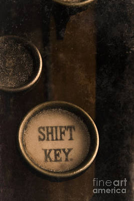 Photograph - Shift Key by Clayton Bastiani