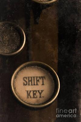 Shift Key Art Print