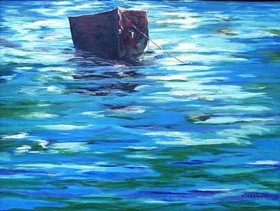 Shifting Boat Art Print by Beth Maddox