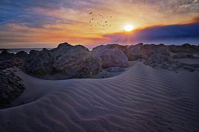 Photograph - Shifting Sands In Ventura by Lynn Bauer