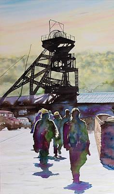 Shift's End Art Print by Paul Parsons