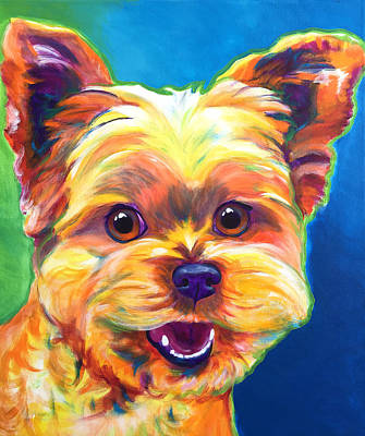Shih Tzu Painting - Shih Tzu - Boba by Alicia VanNoy Call
