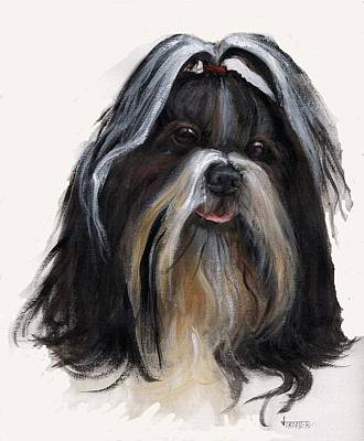 Shih Tzu Original by Jimmie Trotter