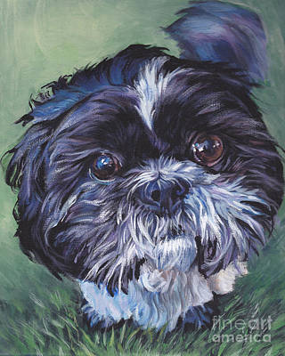Shih Tzu Art Print by Lee Ann Shepard