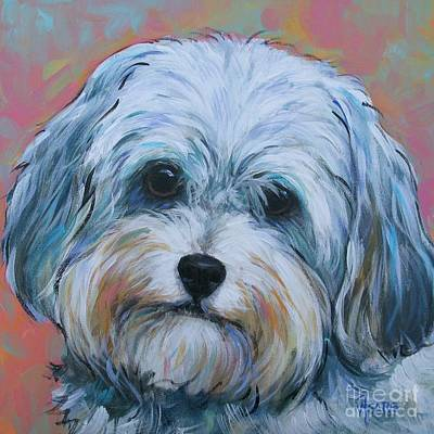 Painting - Shih Tzu by Vickie Fears