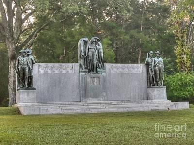 Photograph - Shiloh Confederate Memorial by David Bearden