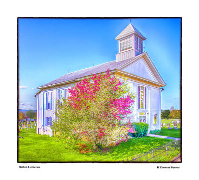 Photograph - Shiloh Lutheran by R Thomas Berner