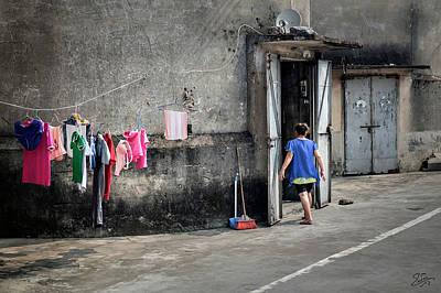 Photograph - Shilong Life by Endre Balogh