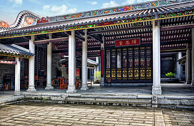 Photograph - Shilong Temple by Endre Balogh