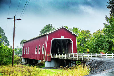 Photograph - Shimanek Bridge by Walt Baker