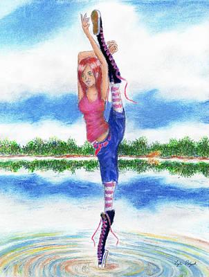 Pastel - Shimmer, Spontaneity by Lyle Polyak