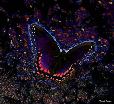 Digital Art - Shimmer by Wesley Nesbitt