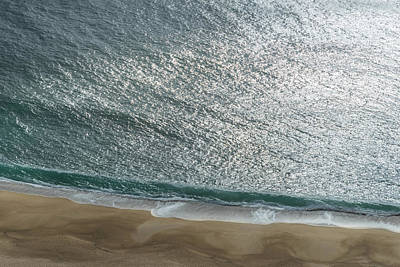 Photograph - Shimmering Fluid Solitude by Georgia Mizuleva