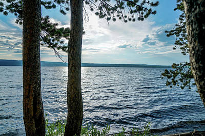 Summer Photograph - Shimmering Waters by Ric Schafer