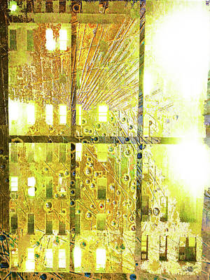 Old Door Mixed Media - Shine A Light by Tony Rubino