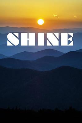 Photograph - Shine by David Simchock