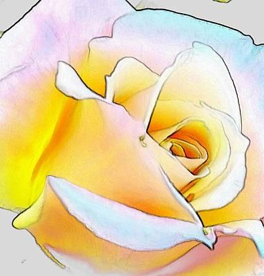 Digital Art - Shine by Kumiko Izumi