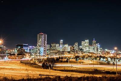 Photograph - Shine On Denver by Greg Wyatt