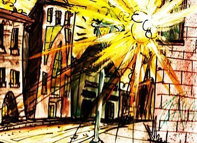Shine On Art Print by Josh Burns