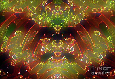 Digital Art - Shine On Neon by Gayle Price Thomas