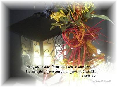 Photograph - Shine Upon Us O Lord by Monica C Stovall