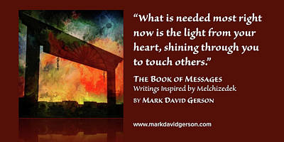Digital Art - Shine Your Light by Mark David Gerson