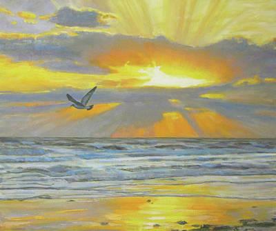 Shine Your Light Art Print by Robie Benve