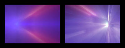 Photograph - Shineonucrazydiamond Diptych 12 Onblack by David Hargreaves