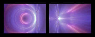 Photograph - Shineonucrazydiamond Diptych 13 Onblack by David Hargreaves