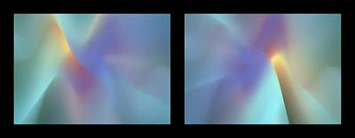 Photograph - Shineonucrazydiamond Diptych 16 Onblack by David Hargreaves