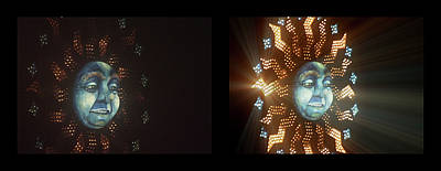 Photograph - Shineonucrazydiamond Diptych 20 Onblack by David Hargreaves
